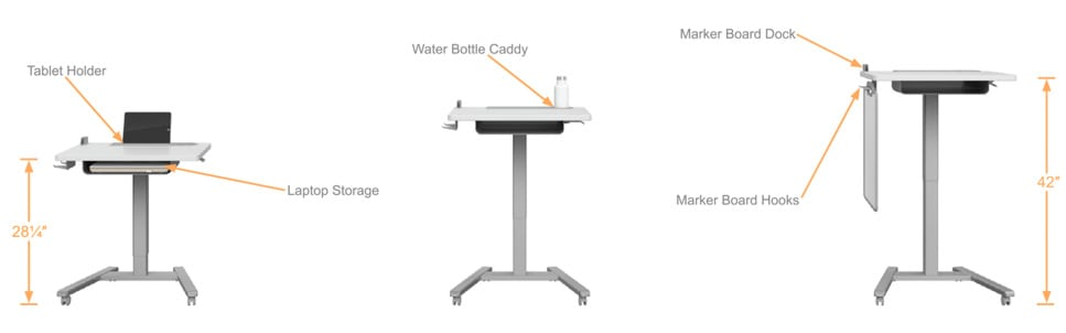 Sit to Stand Desk Fuzion Haskell