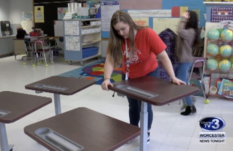 Classroom Makeover Contest Makes a Big Impact at West Street School
