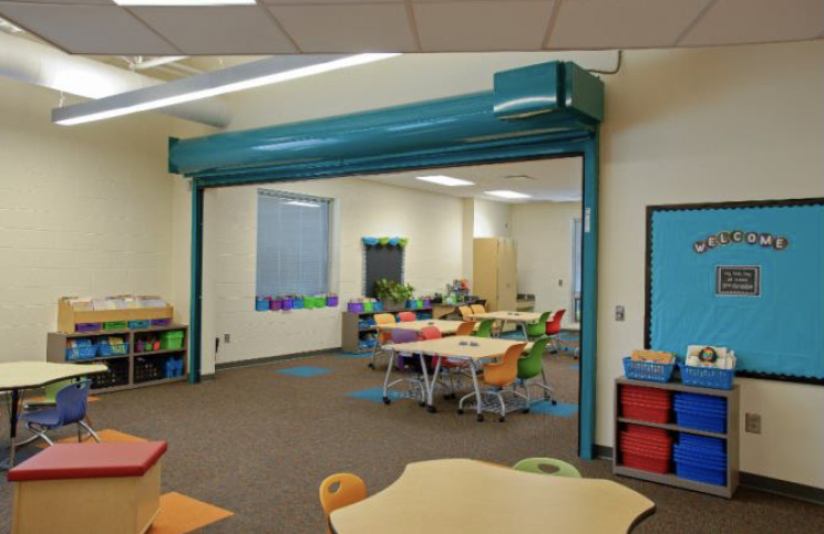 Haskell - Beaver Local School - Classroom Layout with Ethos Chairs