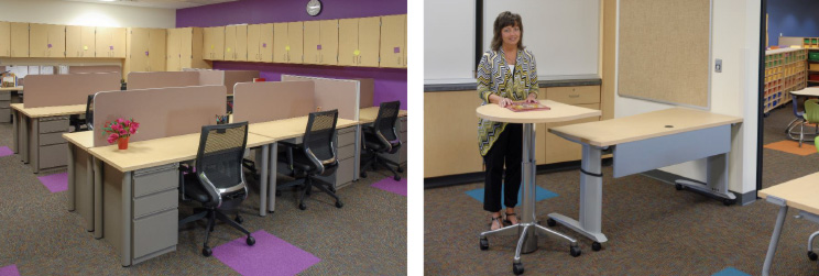 Haskell - Smart Series Furniture and FuZion Teachers Desking