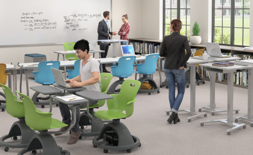 Haskell Fuzion Sit to Stand Educational Spaces