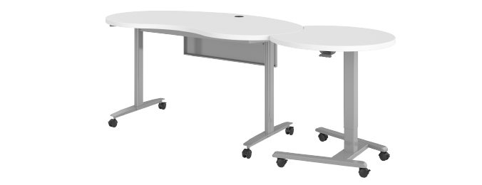 Haskell Fuzion Kidney Table Collapsed