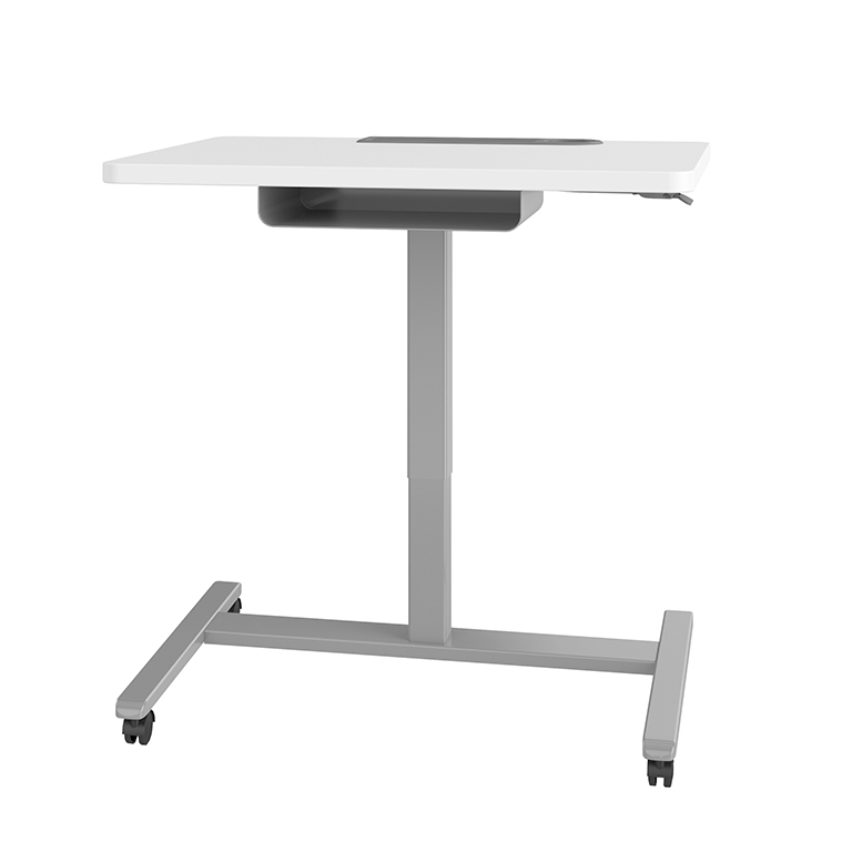 Haskell Fuzion Large Sit to Stand Student and Teacher's Desk