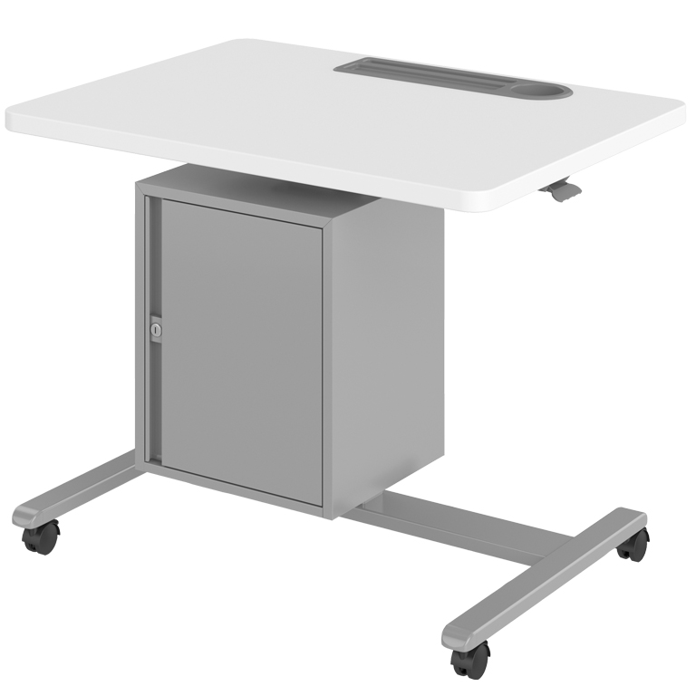 Haskell Fuzion Large Teacher's Lectern with Storage