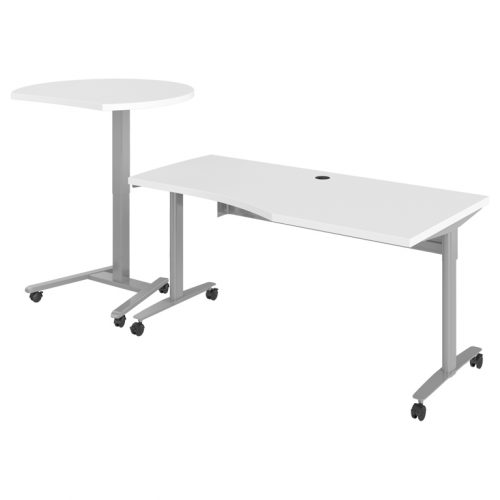 Haskell Fuzion Wave Table with Curved Podium