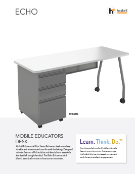 Echo Mobile Educators Desk Cut Sheet