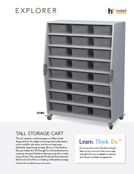 Tall Storage Cart Cut Sheet