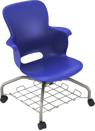"14"" Ethos Chairs Metal Base No Tablet"