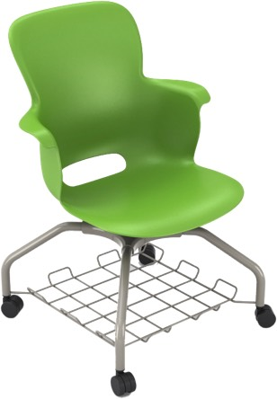 "16"" Ethos Chairs Metal Base No Tablet"