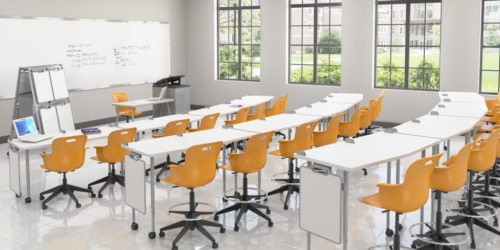 Stadium Seating Classroom FIVE STAR AngleShot