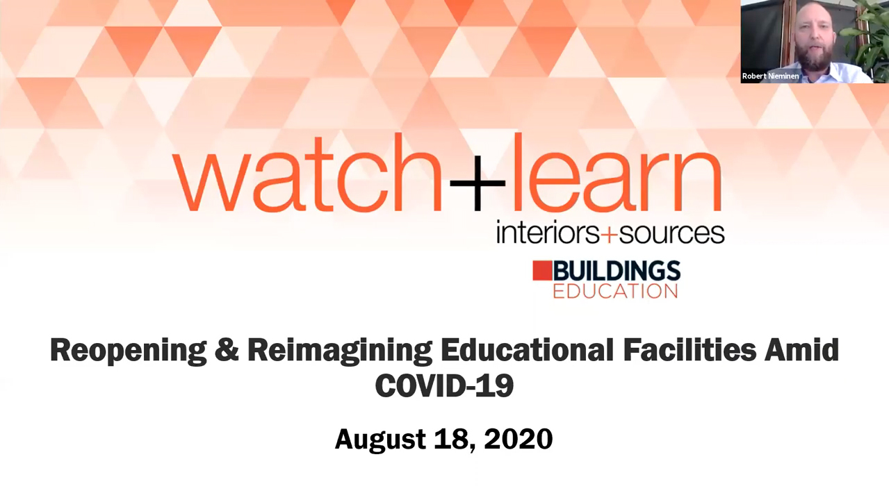 Reopening and Reimagining Educational Facilities Amid COVID-19