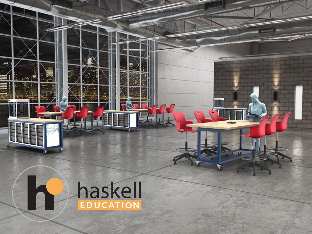 Haskell-Modern-Makerspace-Classroom