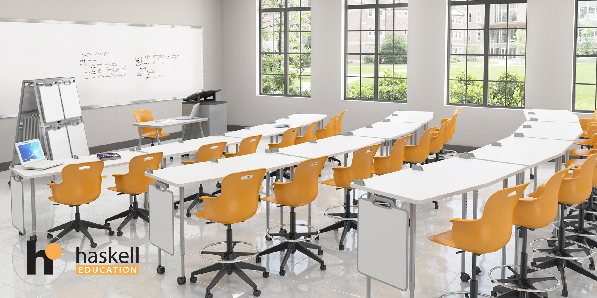 Stadium Seating Classroom FIVE STAR AngleShot