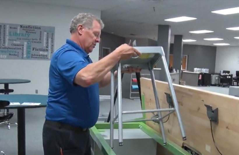 Grand Mesa Middle School Gets New Rover Makerspace