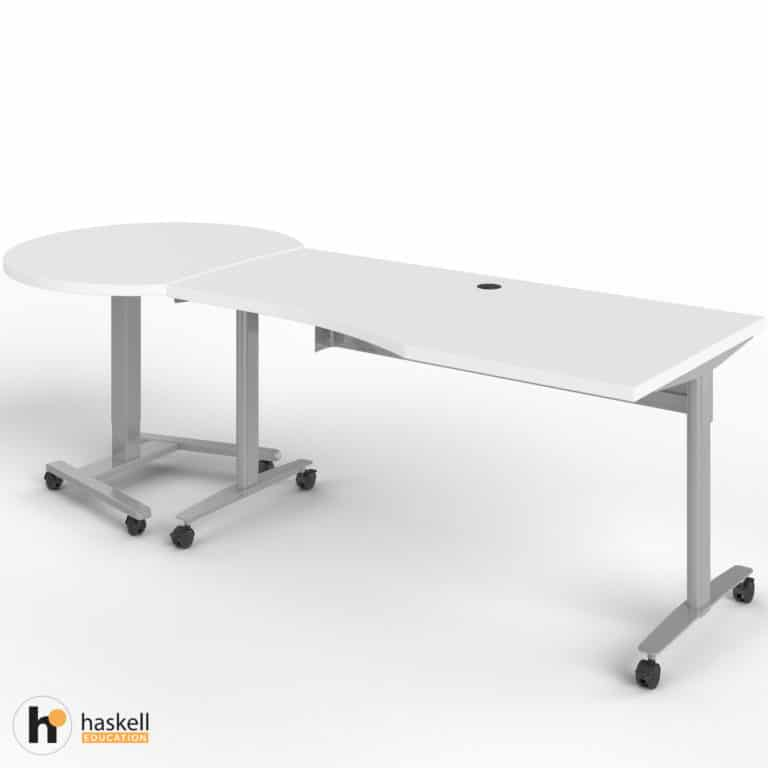 Fuzion Wave Table and Sit to Stand Left
