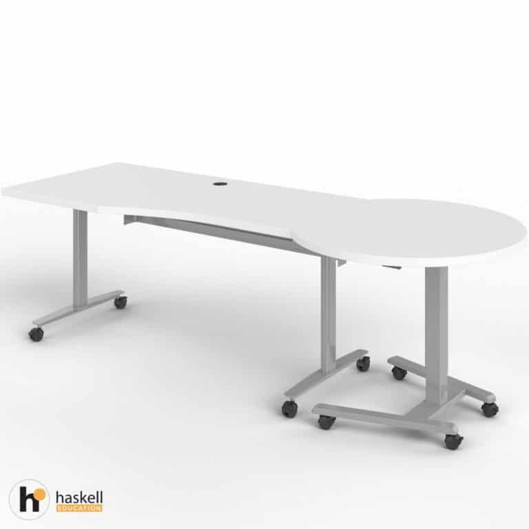 Fuzion Wave Table and Sit to Stand Right