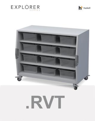 Cubby Storage Cart Revit Files