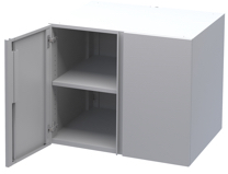 Double Storage<br>Module with Locking Doors