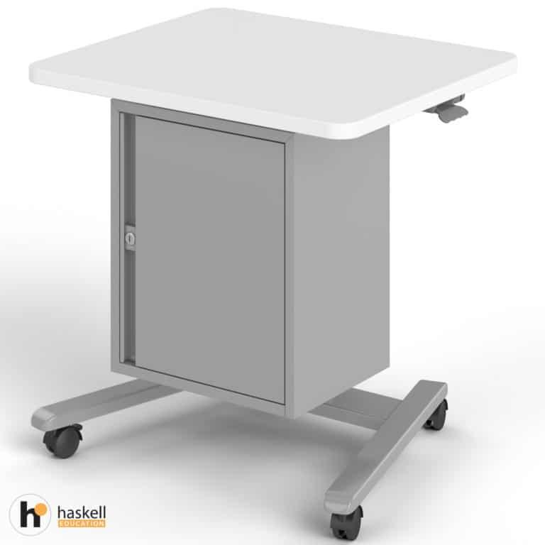 Fuzion Teachers Lectern Standard with Storage Cabinet