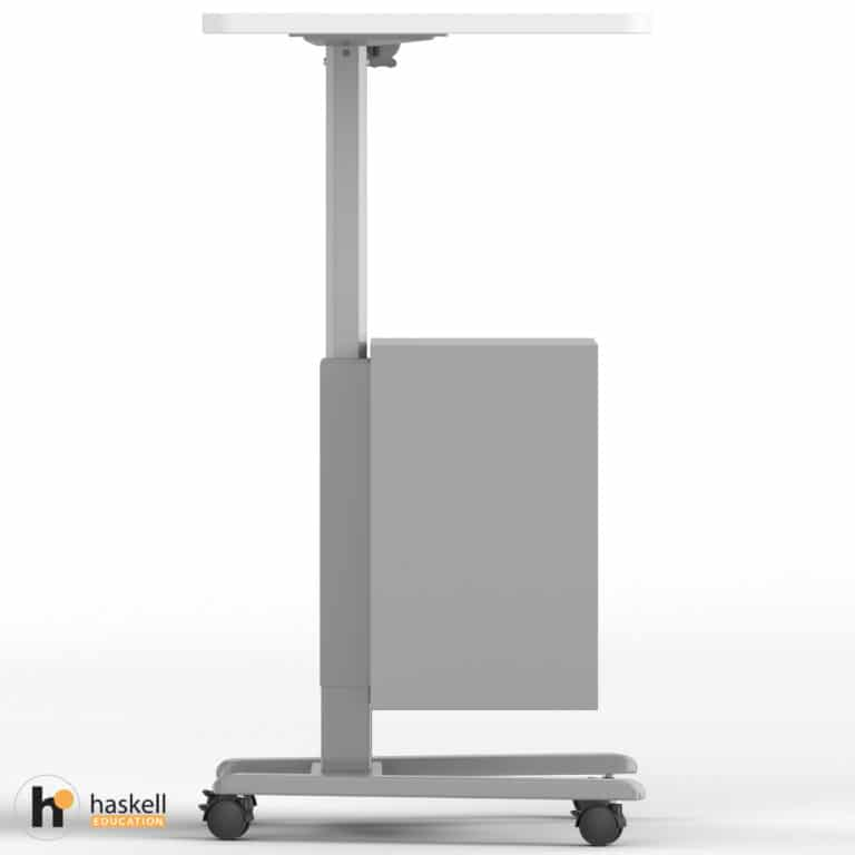 Fuzion Teachers Lectern Standard with Storage Cabinet Side Raised