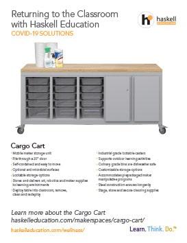 Haskell Wellness Cargo Cart