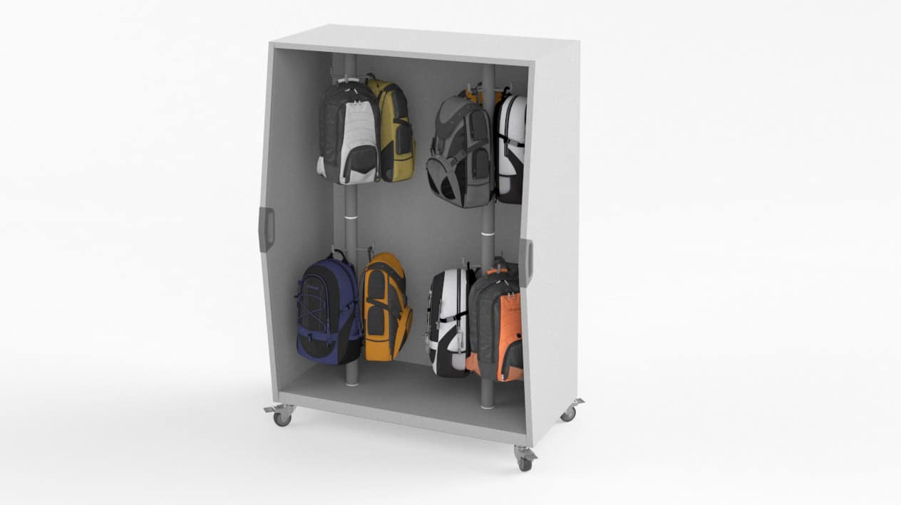 Pack Cart with Back Packs – Windows