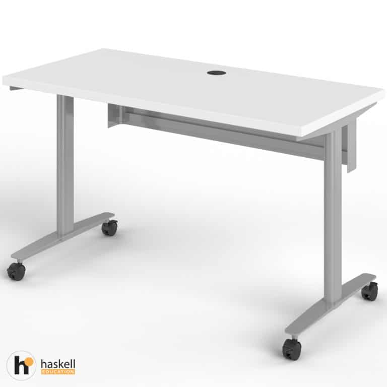 Fuzion Rectangle Table (24″ x 48″) with Modesty