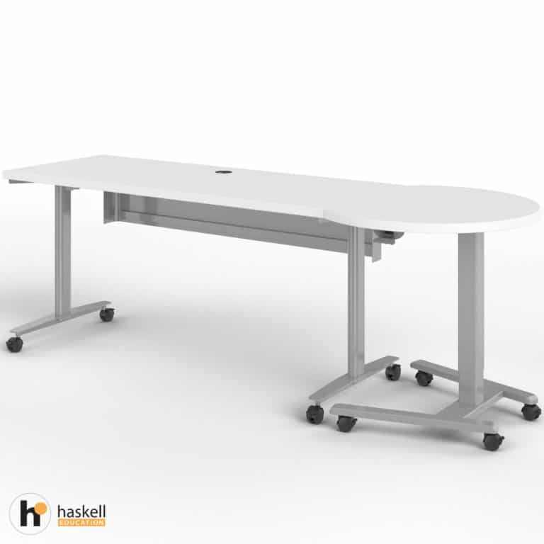 Fuzion Rectangle Table (24″ x 60″) with Companion
