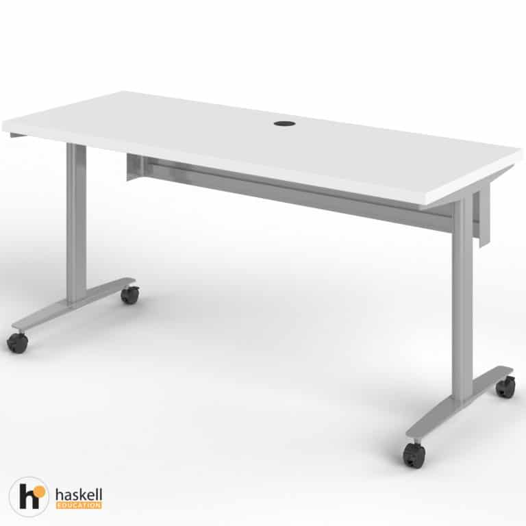 Fuzion Rectangle Table (24″ x 60″) with Modesty