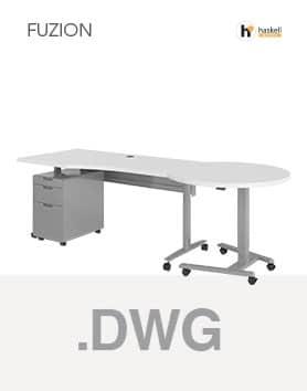 Fuzion Series Wave Table AutoCAD 3D Symbols