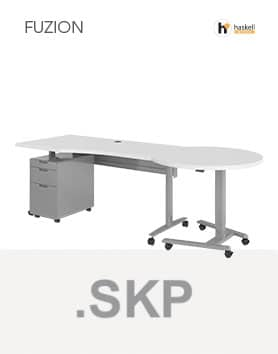 Fuzion Series Wave Table Sketchup Files
