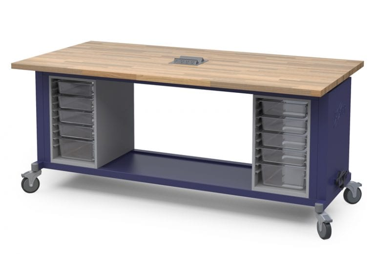 The Rover Table - Navy