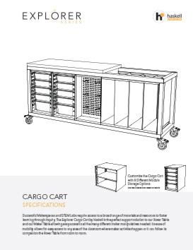 Cargo Cart Spec Sheet