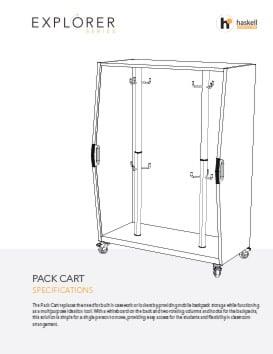Pack Cart Spec Sheet