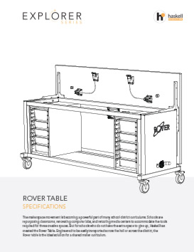 Rover Table Spec Sheet