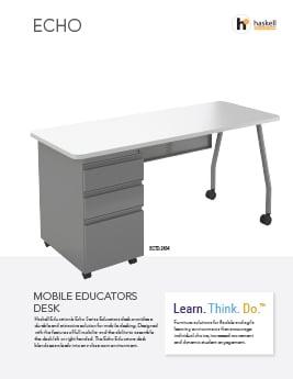 Echo Mobile Educators Desk Cut Sheet