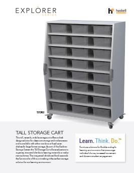 Tall Storage Cart Cut Sheet